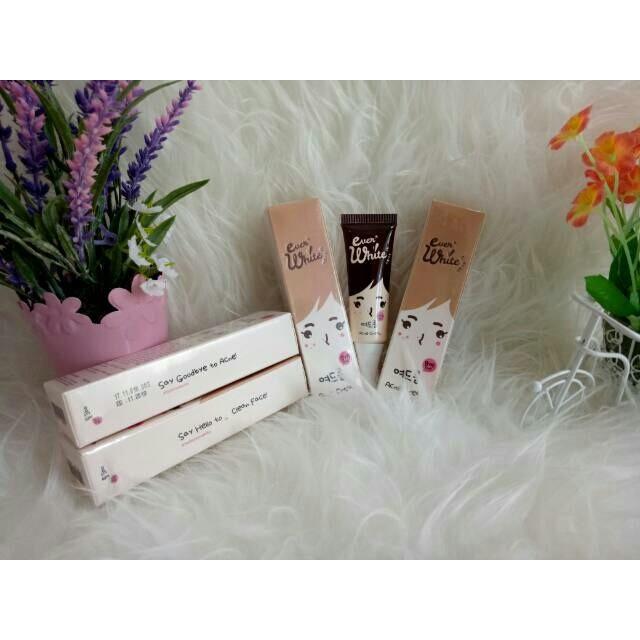 Everwhite Acne Cream Isi 15 ml Krim Ever White Obat Jerawat Ampuh Ber BPOM Original Termurah | Shopee Indonesia