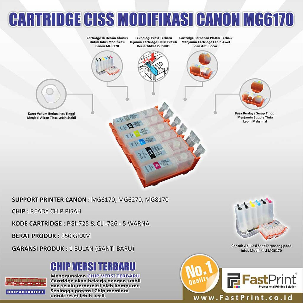 Hp 932 933 Ciss Modif Infus Officejet 7110 7610 7612 Shopee Knee L Infuss Import Untuk Canon Indonesia