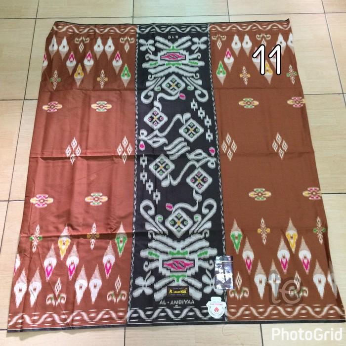 SPESIAL SARUNG TENUN AL-ANBIYAA AL ANBIYAA SHOLAT MUSLIM CORAK BATIK NO 11 PERLENGKAPAN IBADAH MURAH | Shopee Indonesia