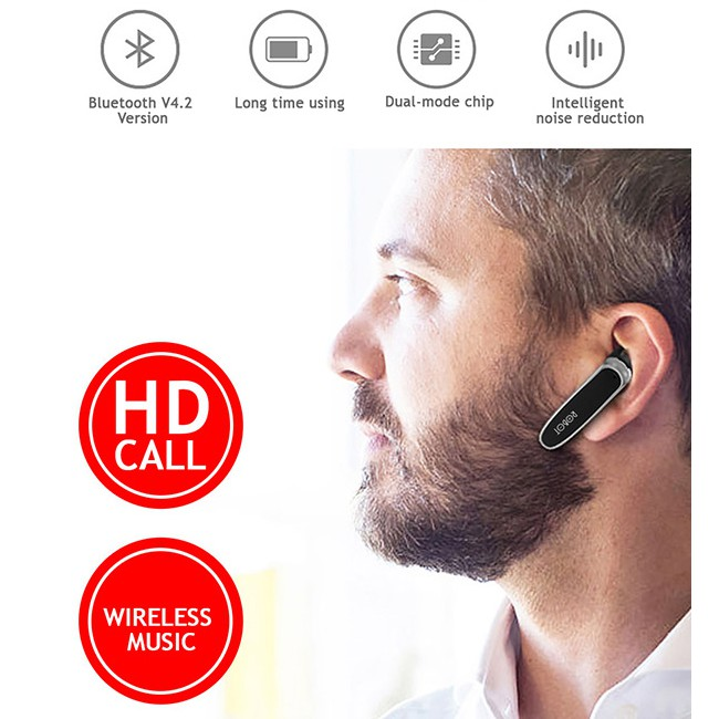 Headset Bluetooth Robot R3 Handsfree Bluethoot V4 2 Earphone Wireless Shopee Indonesia