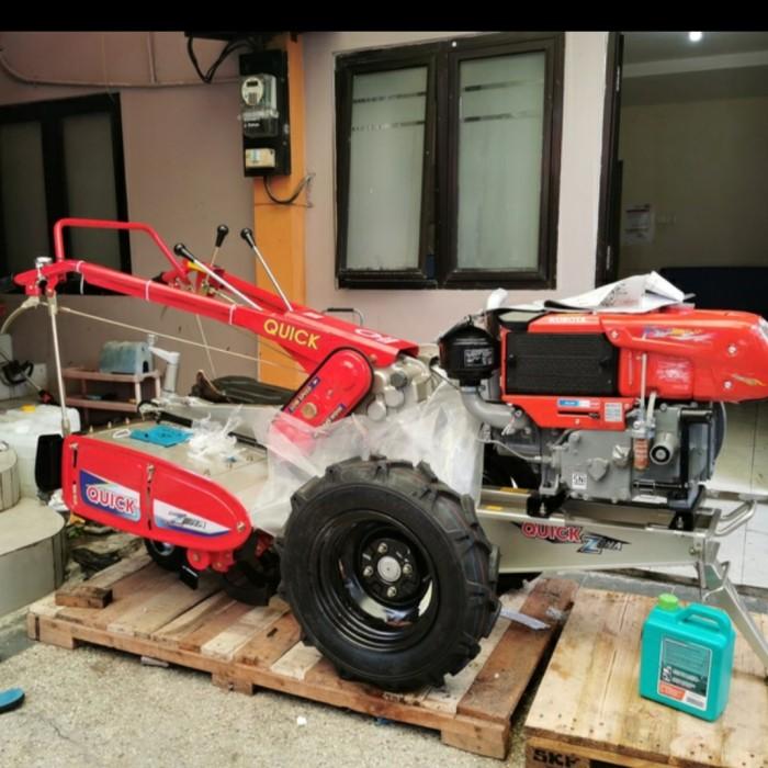 Traktor QUICK ZENA Rotary Lengkap Diesel Kubota Terjangkau