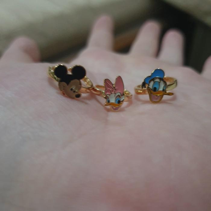 Child Jewelry | Cincin Disney Sanrio Ubs Bayi Emas Asli Hello Kitty 375 Minnie Ubs
