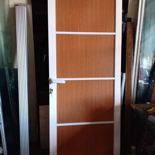 Pintu panel aluminium dan pintu acp aluminium
