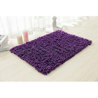 Keset Cendol Dof Ungu 40 x 60 cm karpet bulu / doormat chenille purple