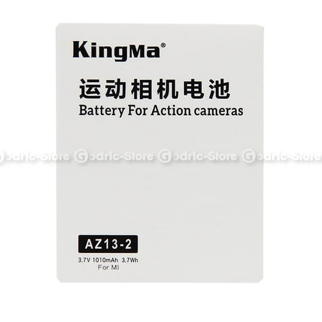 KingMa Baterai Replacement / Spare Battery for Xiaomi Yi 4K / 4K PLUS / LITE |