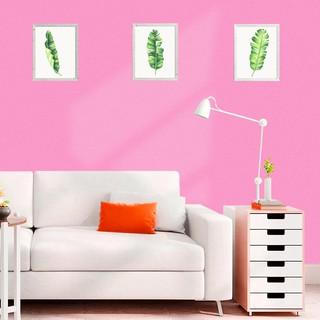 stiker dinding dengan bahan tahan air dan warna polos