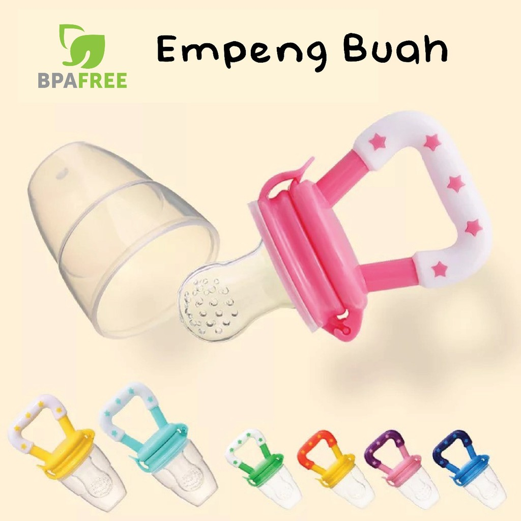 Empeng Buah Baby Fruit Pacifier Fresh Food Feeder Shopee Indonesia Dot Bayi