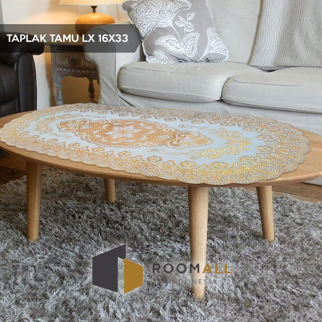 Taplak Meja Tamu - Ukuran 16x33cm