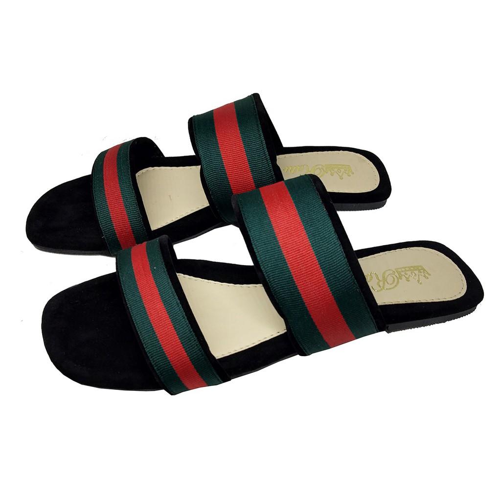 Sendal Wedges Platform Sandal Rc 07 Shopee Indonesia Wanita Flatbed Formal 04