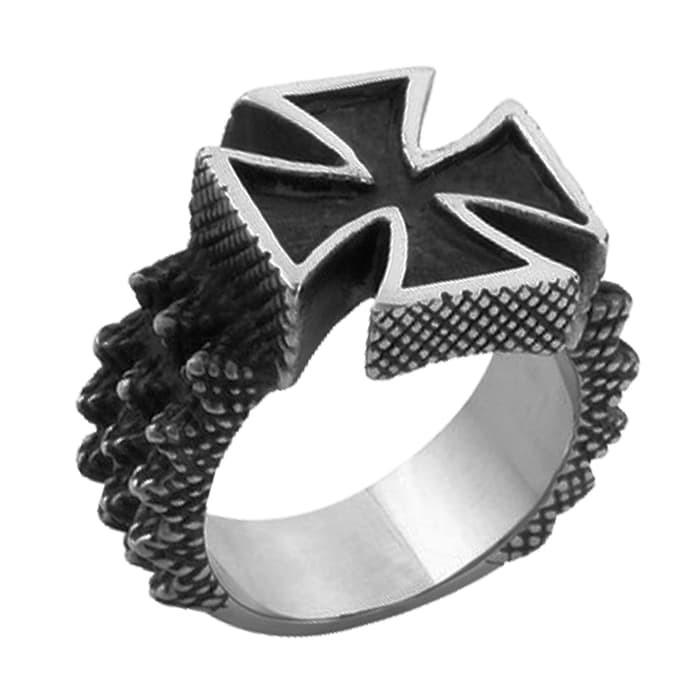 Fashion Wanita - Perhiasan - Cincin Skull ring jewelry biker ring cincintengkorak titanium freak   Shopee Indonesia