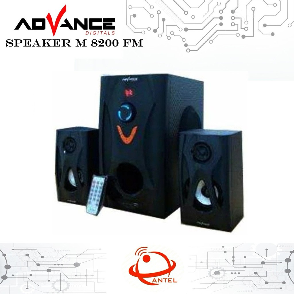 Speaker Advance Tp 200bt Shopee Indonesia