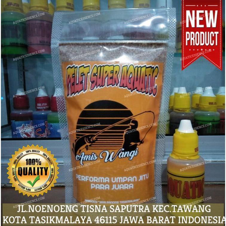Umpan Pelet Super Aquatic Amis Wangi + Essen Ikan Mas Jitu | Shopee Indonesia