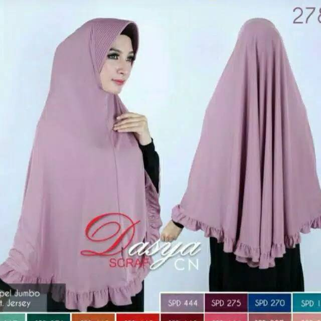 Bayar Ditempat Hijab Jersey Jumbo Rempel Xl Shopee Indonesia