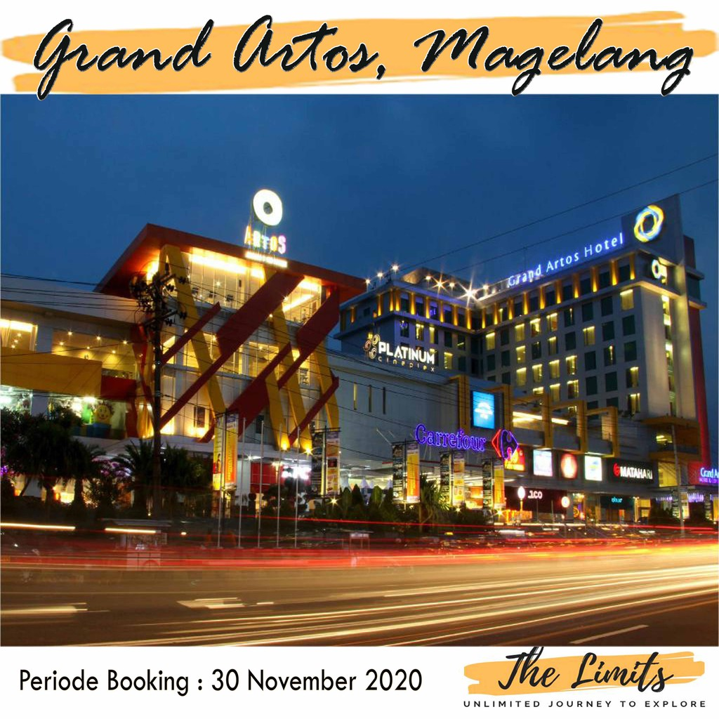 Promo Hotel Grand Artos Magelang Shopee Indonesia
