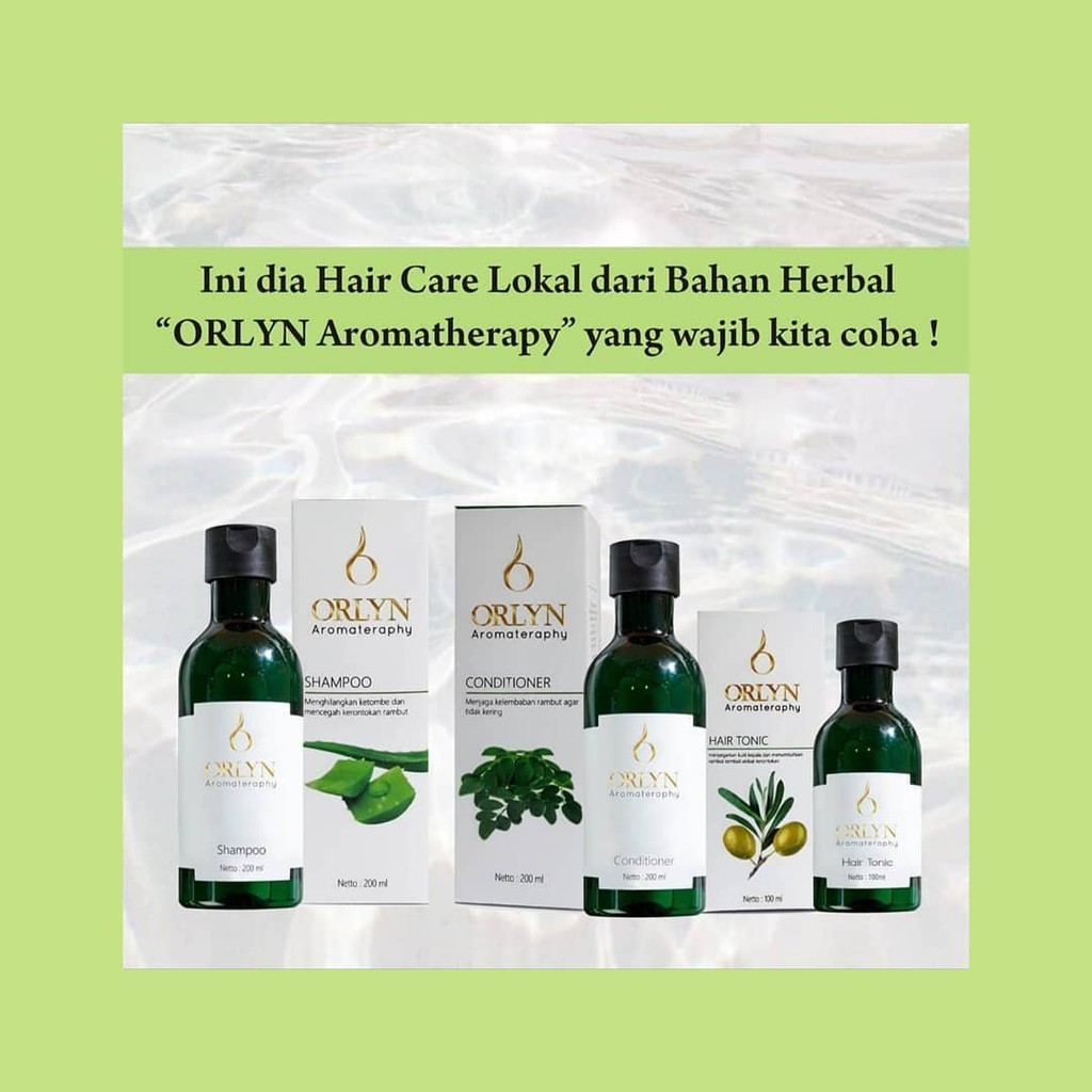 Orlyn Shampoo Original Nasa Mengatasi Masalah Rambut / Stockist Original Nasa-1