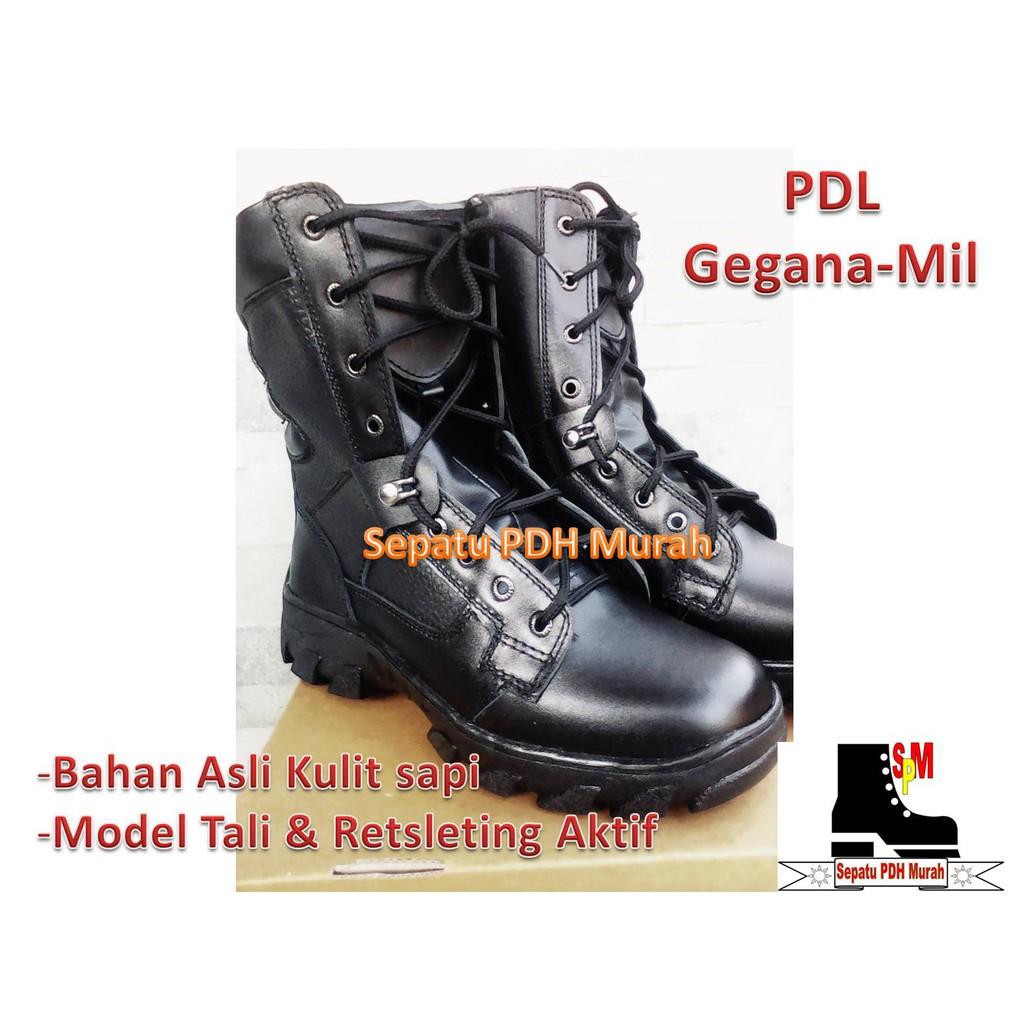 Sepatu Pdl Safety Gurun Seri 025 Marine Standar Usnavy Best Pkd Atau Provos Jahit Quality With Guard Shopee Indonesia