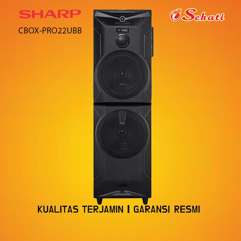 SHARP/SPEAKER/CBOX PRO22UBB/SHARP PRO 22UBB