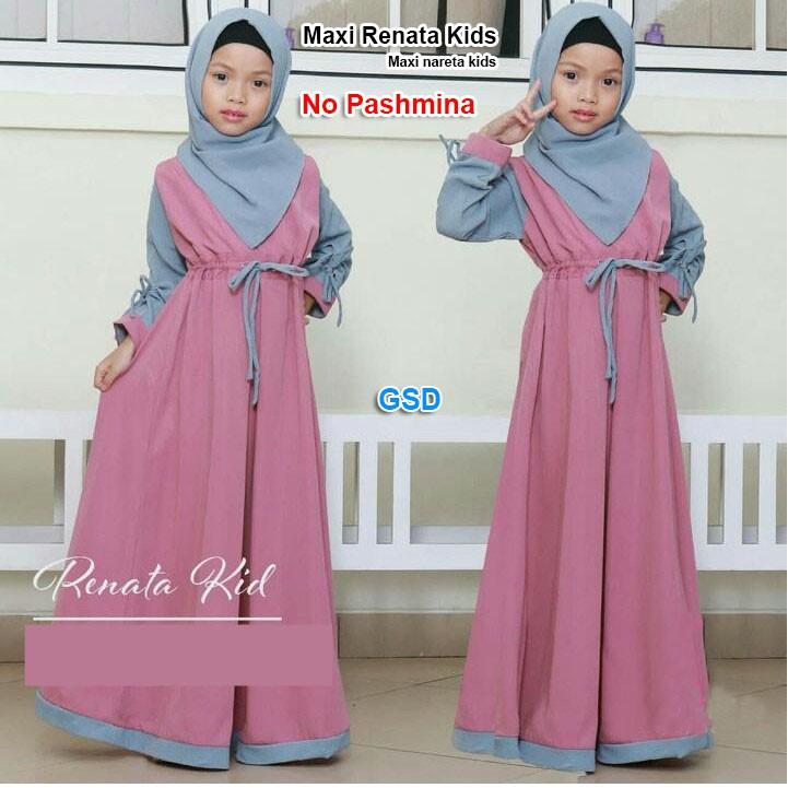 Gamis renata kids   gamis anak   baju muslim anak  3799d8cc65