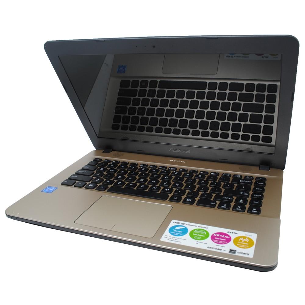 Asus X441MA GA001T With MEMORI 4GB Intel DUALCORE N4000