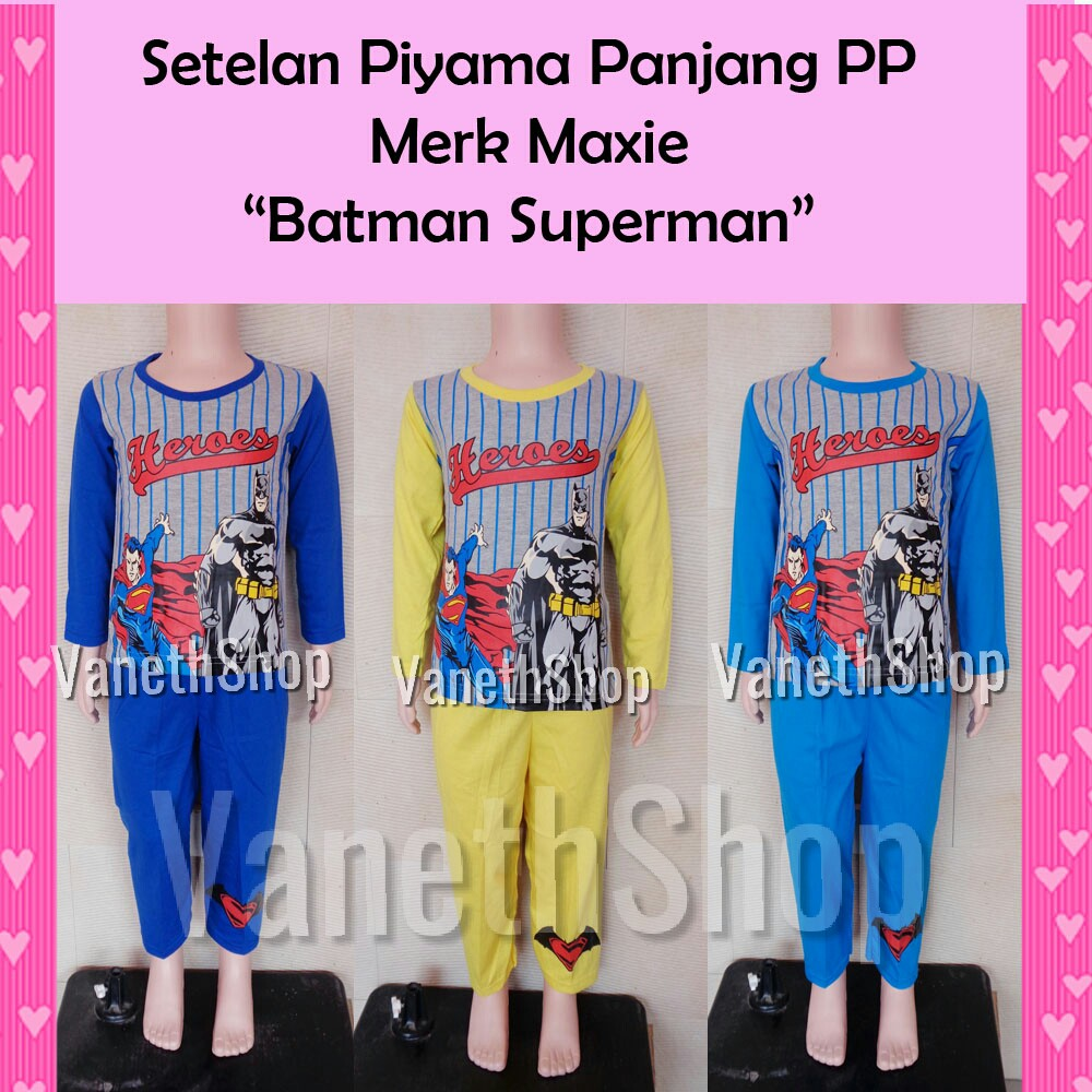Kaos Anak Laki Superman Dan Captain America Only Size 16 20 Pj Masks Ajs296 Shopee Indonesia