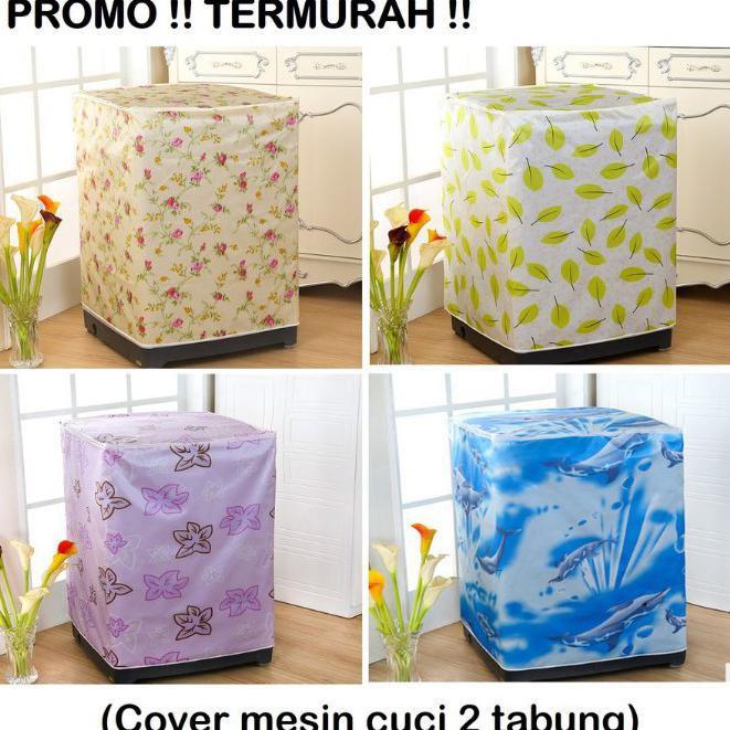 ... Buka Atas Anti Air Panas Tipe C . Source · Promo Cover Mesin Cuci 2 Tabung Original Washing Machine Cover ...   Shopee Indonesia