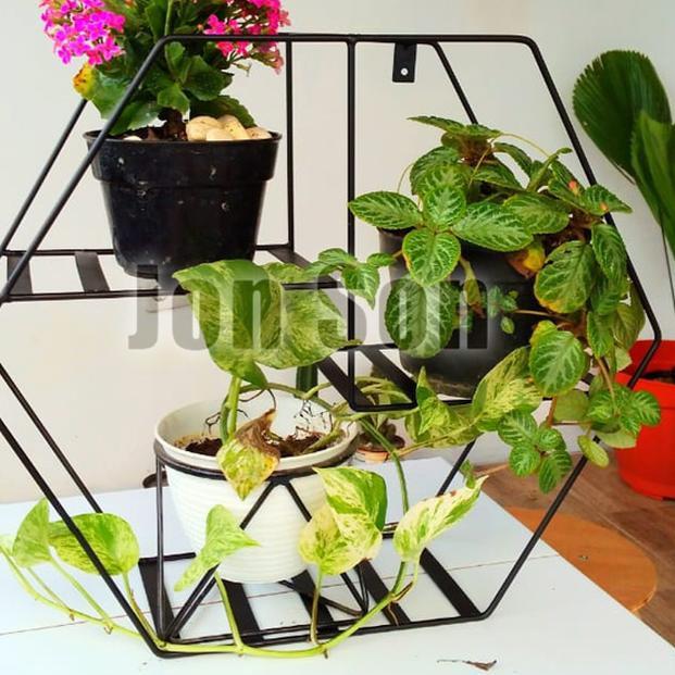 Kirim Sekarang Rak Tanaman Hias Pot Bunga Gantung Minimalis Standing Dekorasi Rumah Promo Shopee Indonesia