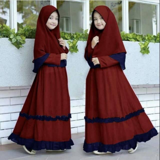 Harga Gamis Anak Umur Terbaik Pakaian Muslim Anak Fashion Muslim Maret 2021 Shopee Indonesia