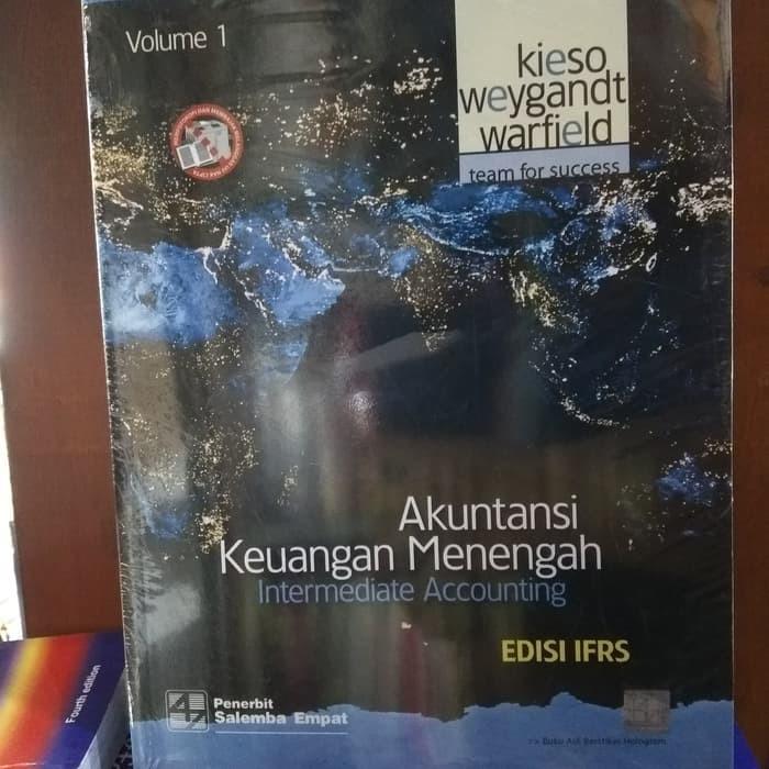 Buku Buku Akuntansi Keuangan Menengah volume 1 Edisi IFRS Kieso Original
