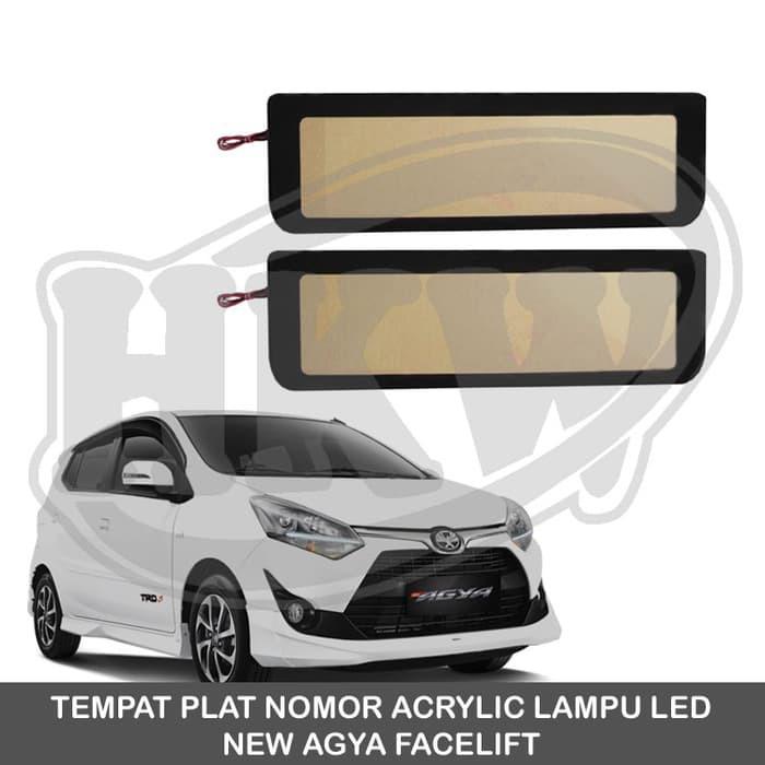 Dudukan Tempat Plat Nomor Acrylic Dengan Lampu Mobil Xpander | Shopee Indonesia