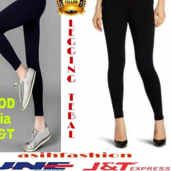 Dnm 725 Celana Legging Tebal Import Legging Tebal Jumbo Celana Legging Tebal Polos Shopee Indonesia