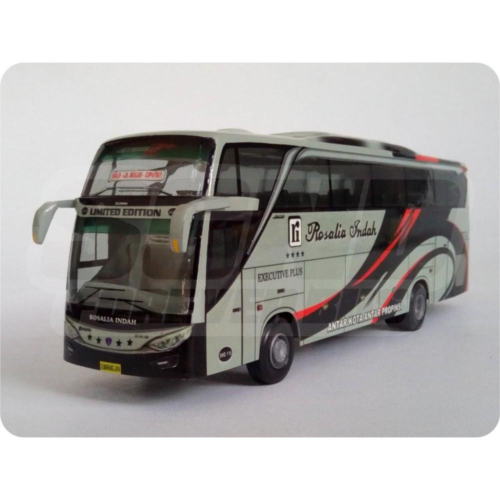 Miniatur Bis Dan Bus Banjarnegara Haryanto Shd Miniatur Bis