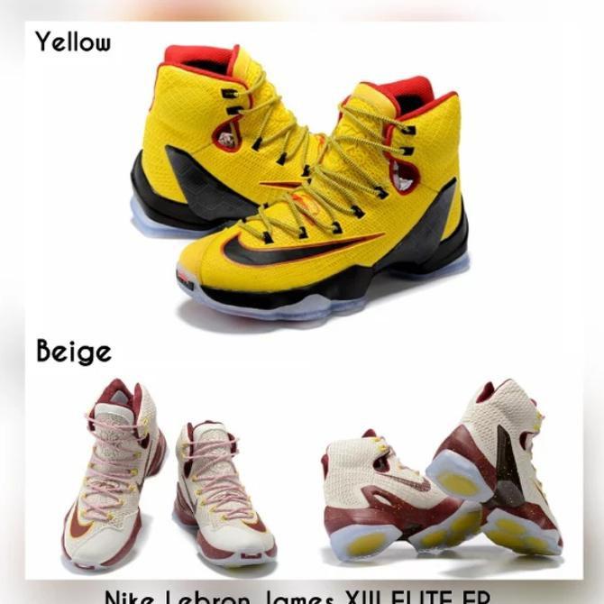 TURUN HARGA!!! Grosir Nike Lebron James XIII ELITE EP Original BNIB -  Sepatu Basket Original  aa320e5e13