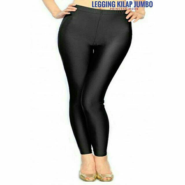 Legging Shiny Licin Jumbo Besar Big Yoga Senam Gym Shopee Indonesia
