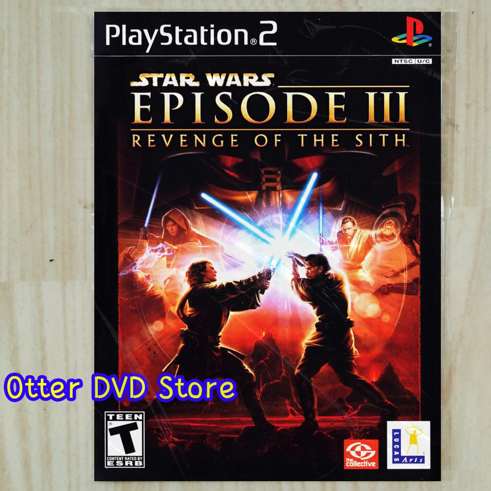 Kaset Game Ps2 Ps 2 Star Wars Episode 3 Revenge Of The Sith Shopee Indonesia