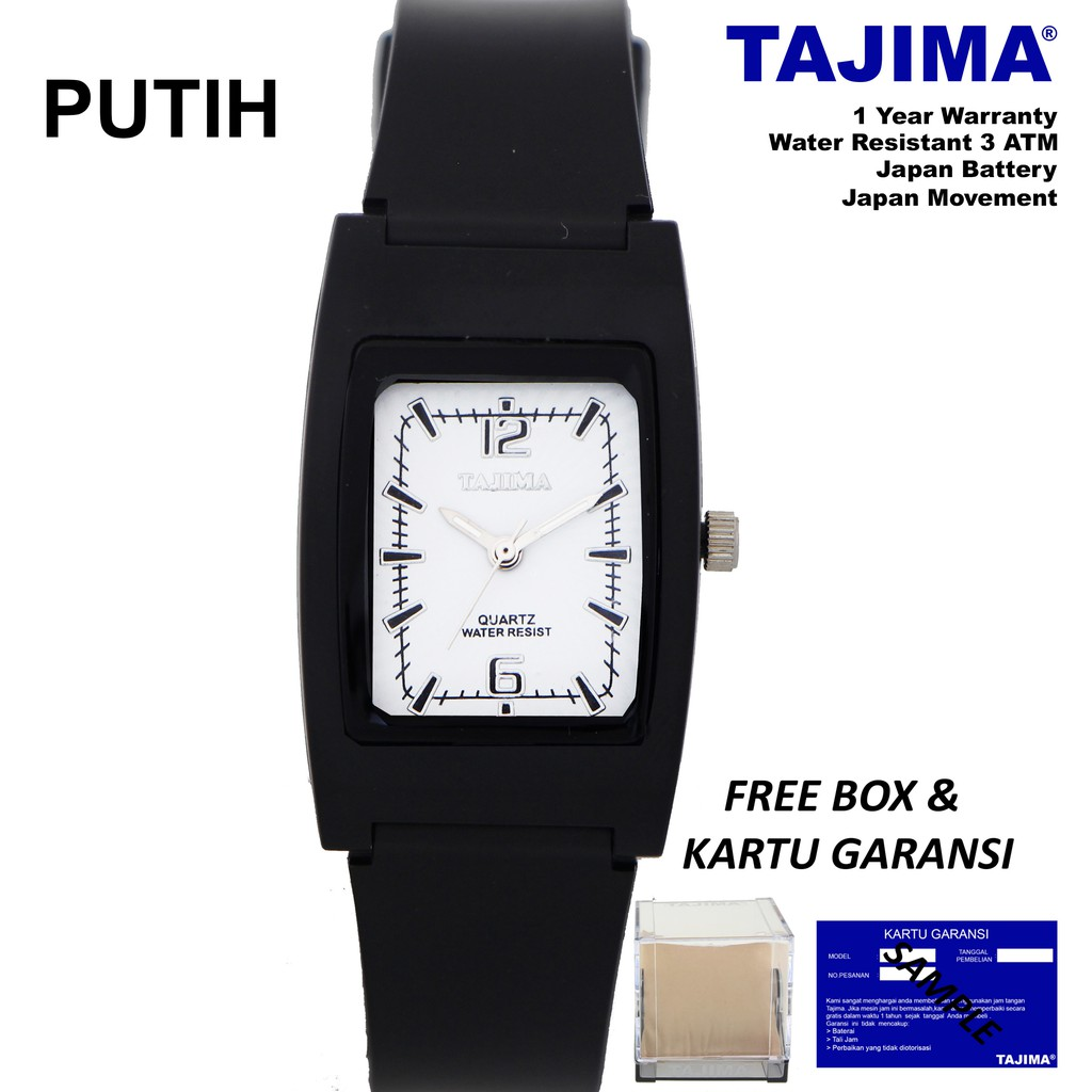 Jam Tangan Pria Tajima Sports 5011 Original Garansi 1 Tahun | Shopee Indonesia