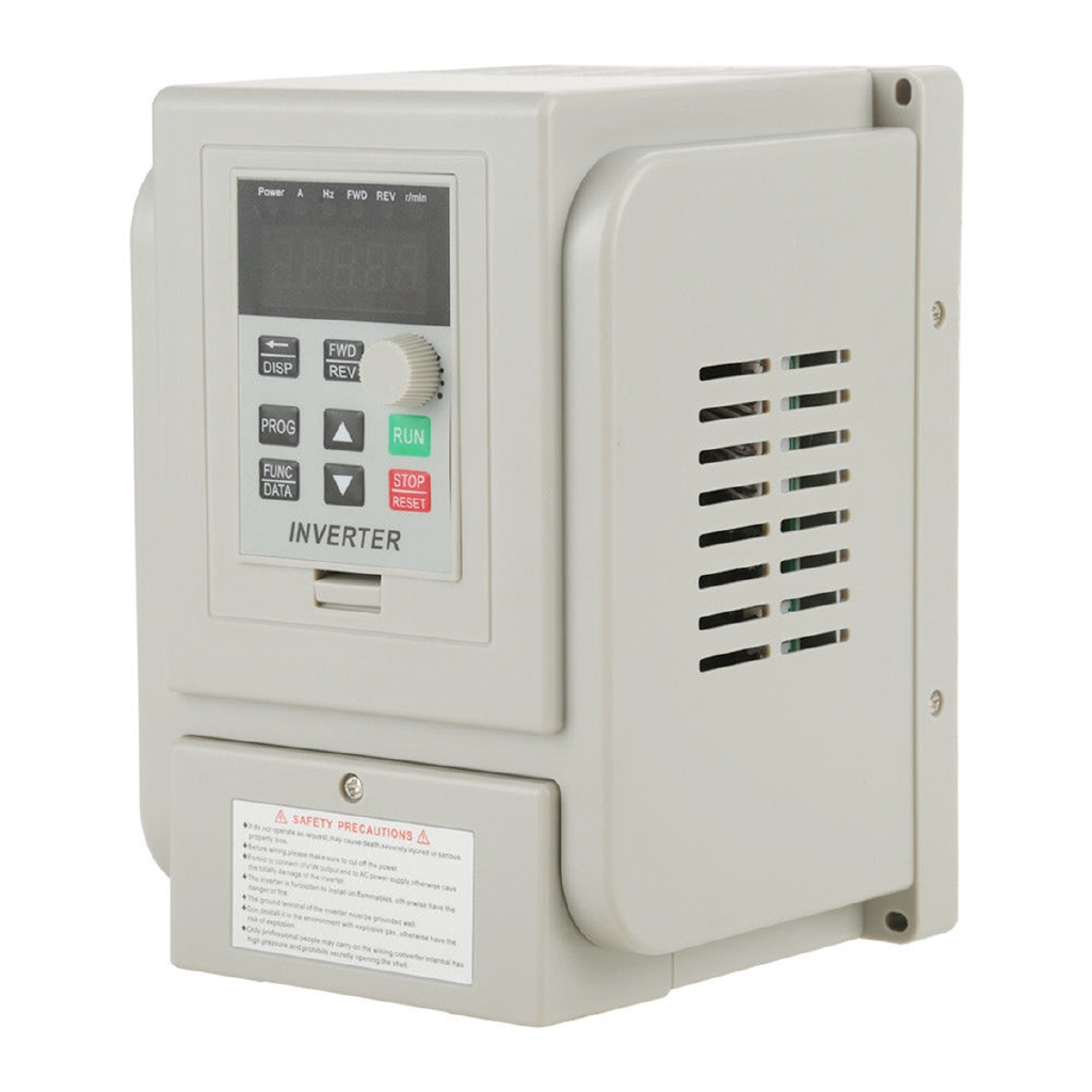 1.5KW 110V Variable Frequency Drive 2HP VFD Capability Single Phase 3 Phase
