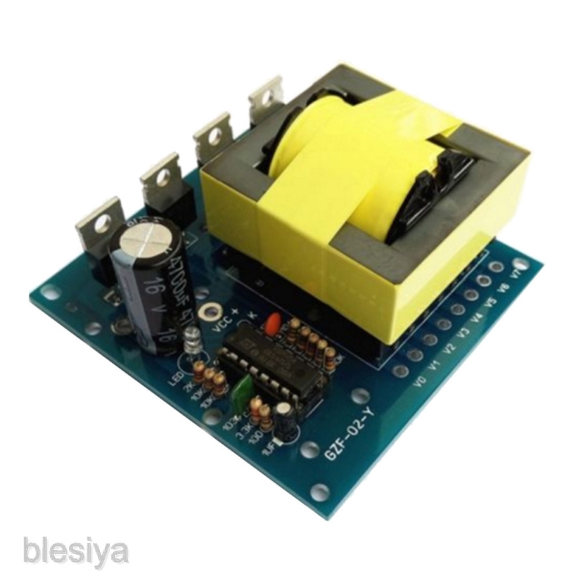 500W Inverter Boost Board Transformer DC 12V//24V to AC 220V 380V Converter