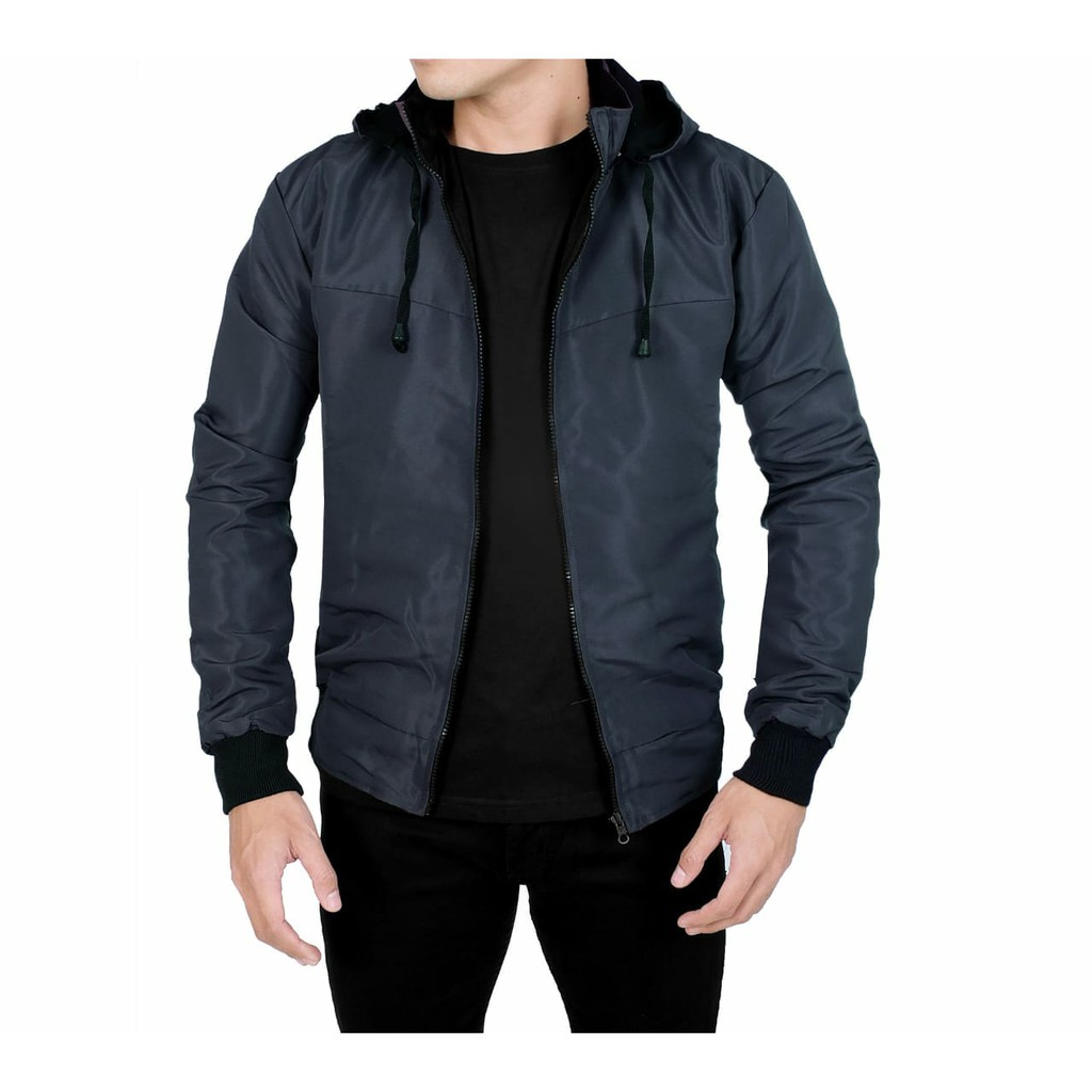 Hoodie Typisch Cotton Fleece Premium Shopee Indonesia Jaket Baseball Karlit Button