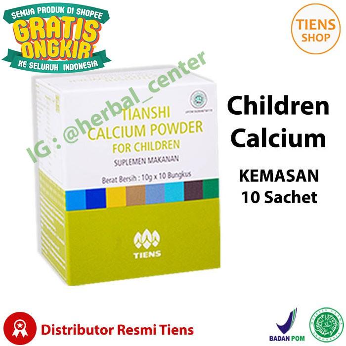 Tiens Nutrient Calcium Powder Susu Tinggi Protein Penggemuk Badan | Shopee Indonesia