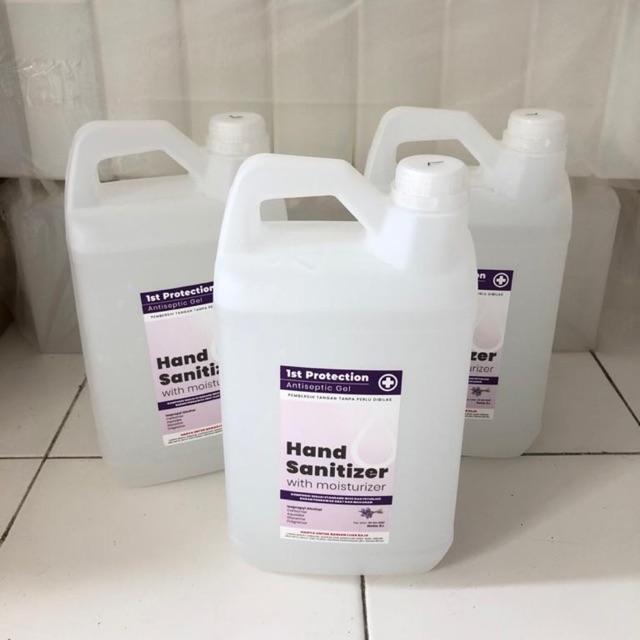 Hand sanitizer gel 5 liter / Hand sanitizer gel lavender