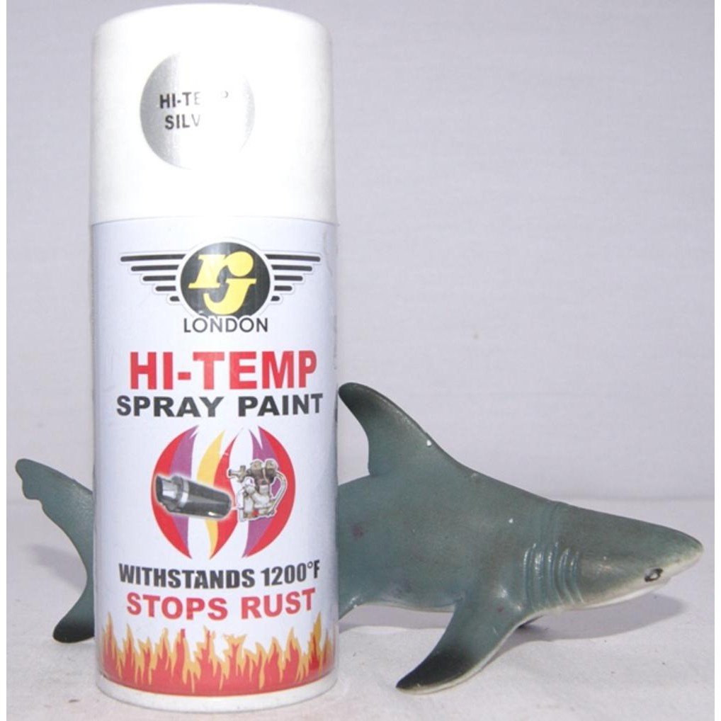 Hi Temp Silver Tahan Panas H1 Cat Semprot Samurai Japan H2 Black Aerosol Paint Hitam Shopee Indonesia