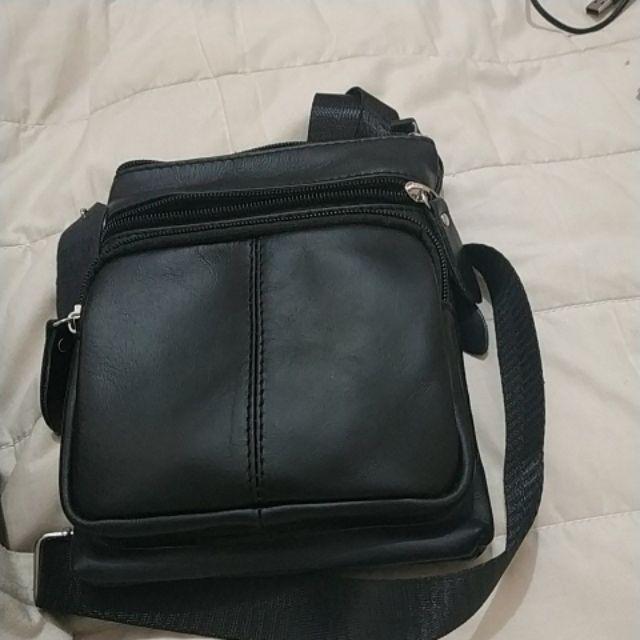Real Leather Vintage pria kulit asli tas santai tas selempang tas ... e05fe3edc4