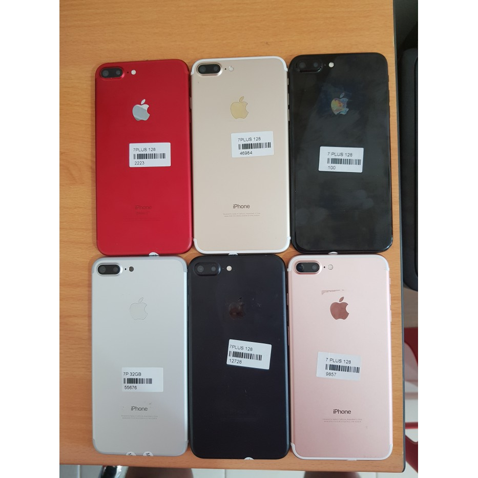 Second Apple Iphone 7 Plus 128gb Black Matte Ex Internasional Jet Garansi Shopee Indonesia