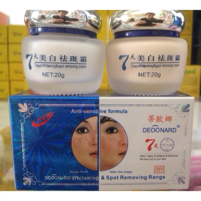 (ORI) Paket Deoonard Blue 25gr (Cream Deonard Day/Night and Soap)   Shopee Indonesia