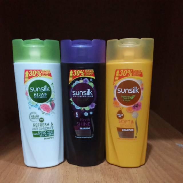 Sunsilk shampo botol 70ml+21ml