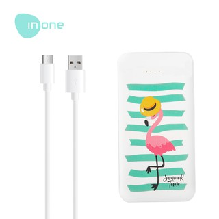 Inone Powerbank Z14 Cute Portable Charger 10000 mAh Fast Charging With Type C Output