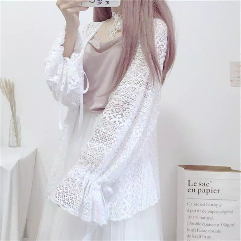 lace outer brokat outer aghnia