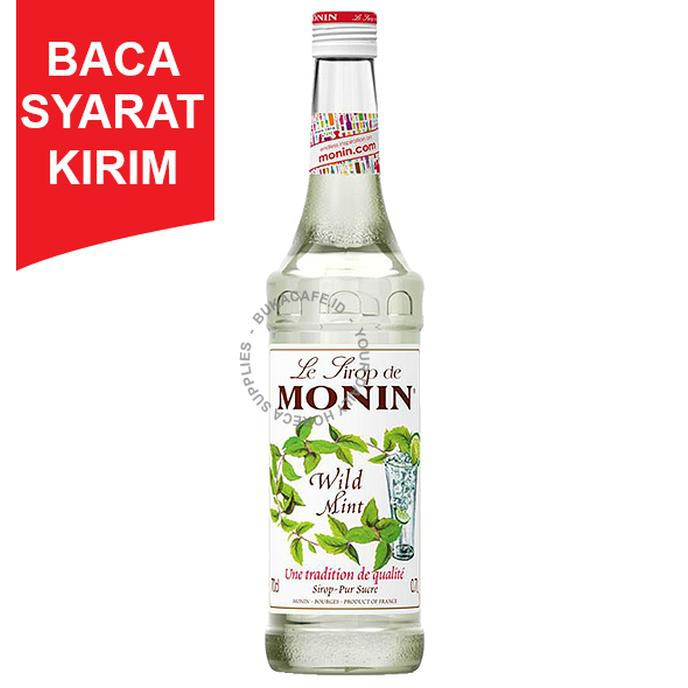 Syrup Monin Wild Mint 700ml Sirup Mojito Mint Shopee Indonesia