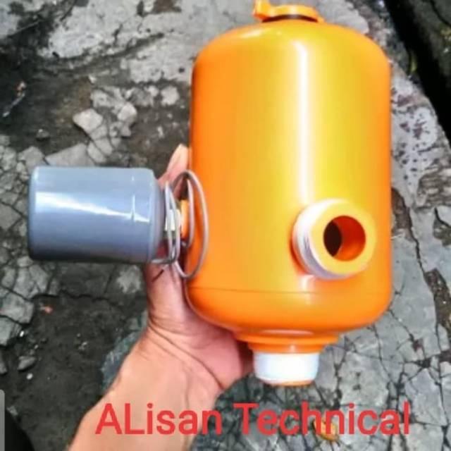 Tabung Pompa Air Otomatis Fiber Lengkap Komplit Sanei Shopee Indonesia