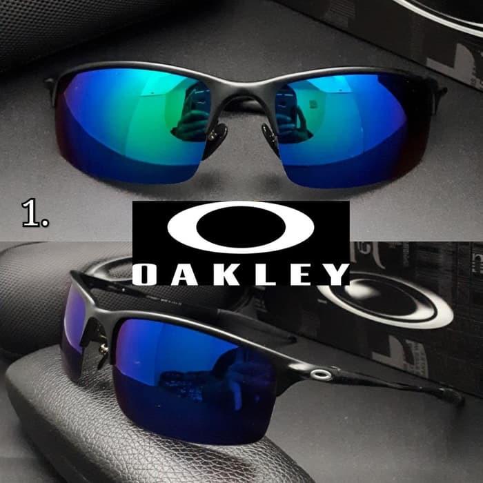 Fashion Pria - Aksesoris - Kacamata - Kacamata Hitam Oakley Deviation  Sunglass Pria Hitam Tangkai  2e34d6e08d